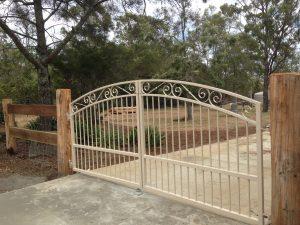 Sophia Arched Driveway Gates