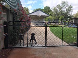 Arabella Double Driveway Gates