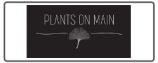 plants on main